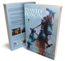 David Poxon Book Watercolour Heart And Soul Book Cover