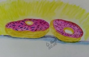 #doodlewashjanuary2020 Donuts IMG_20200116_140630~2
