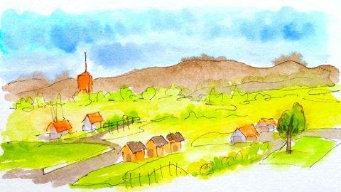 PriyankaPaints Priyanka Sharma Landscape Painting