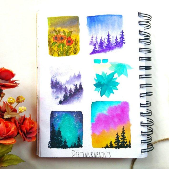 practice thumbnails PriyankaPaints