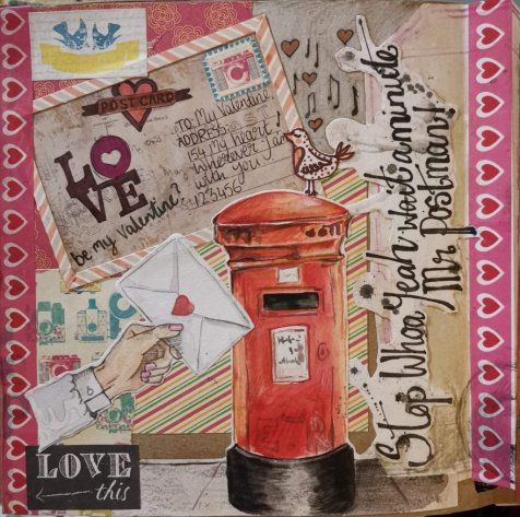 Art Journal Page Elise Richards