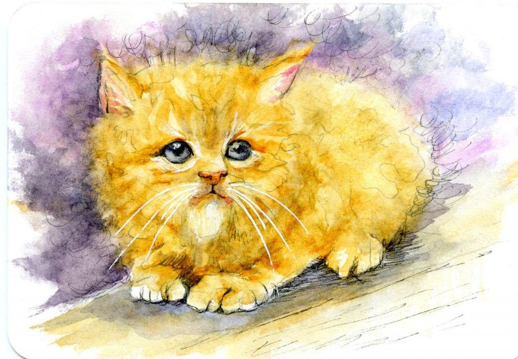 Kitten! – #PencilToPaint Tutorial – #Hahnemühle_USA #ZebraPen_USA #ZebraAmbassador #Pos