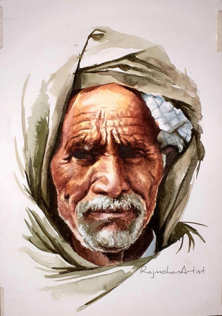 Recent works..watercolors and oil pastels #rajmohanartist https://www.instagram.com/rajmohanartist/