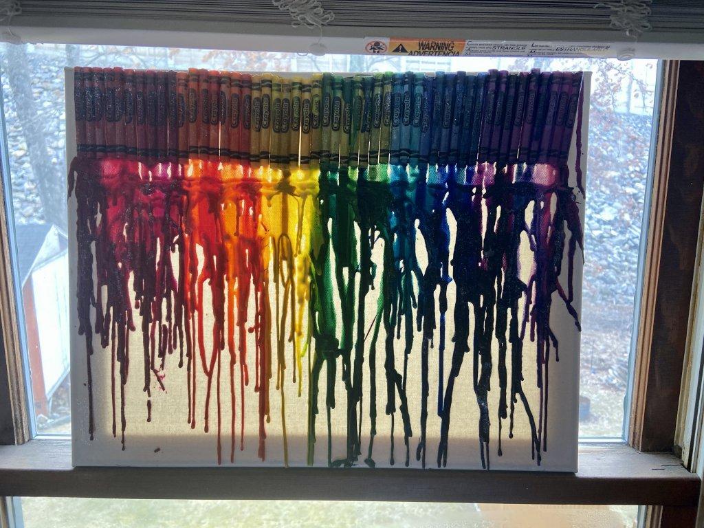 Crayola Project! #rainbow #crayola #crayons 3FE6E895-9DF8-424B-8E41-F621BDECA5AE