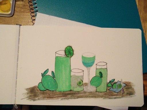 Limes, limes and more limes. #doodlewash #watercolorworldgroupIMG20200328003906IMG_20200328_004032