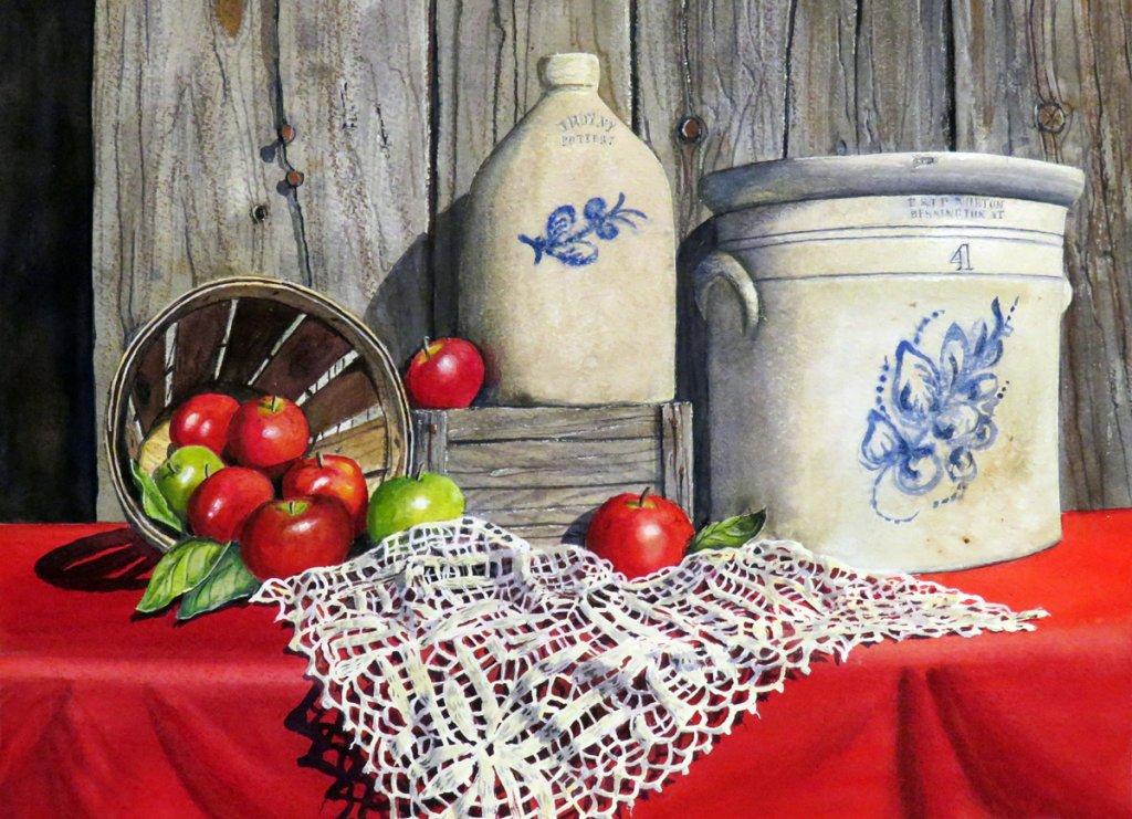 Heirlooms Watercolor Painting