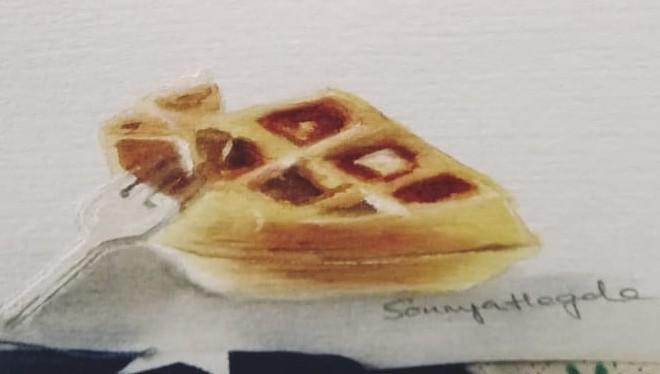 # day 3 # waffles IMG-20200331-WA0004~2