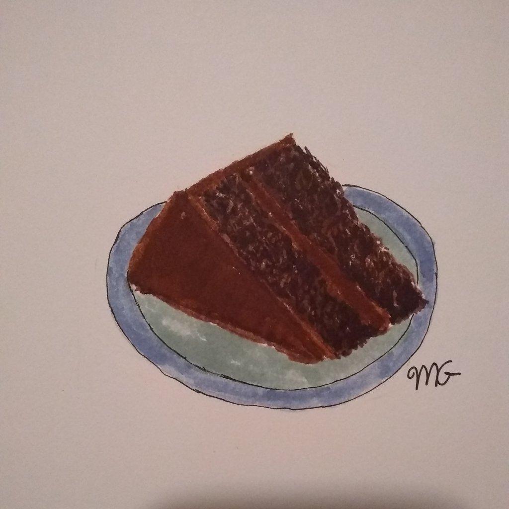 """Doodlewash April 13 """"Cake"""" IMG_20200412_234806_421"""