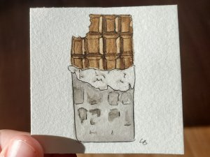 Chocolate bar chocolate