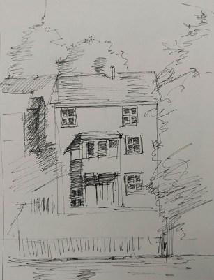 Sketch of Building