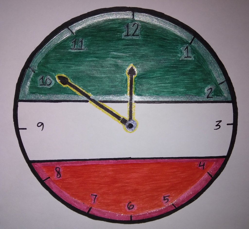 "for #doodlewashJune2020 prompt no.11 ""clock"" I used #gelpens: @crafteasyphilippines glittered (r"