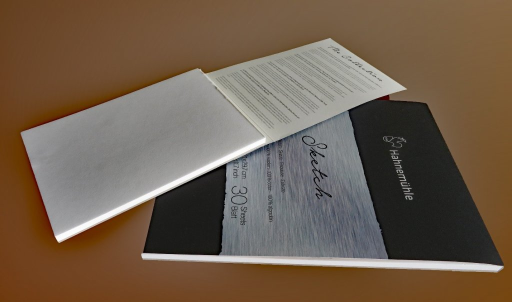 The Collection Sketch Pads by Hahnemühle