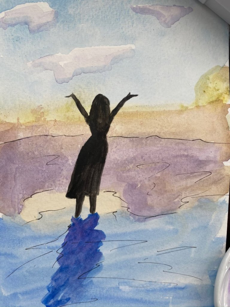 World Watercolor Month – Days 1 and 3 (yes, there are 2 posts for day 3) 4C183C28-E860-41B3-BA