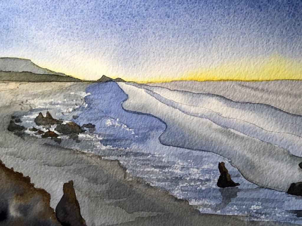 """""""Quiet"""" Morning sunrise beach in California Day 4 4FAEEC22-41E5-4622-9F23-1CDFA389AEC6"""