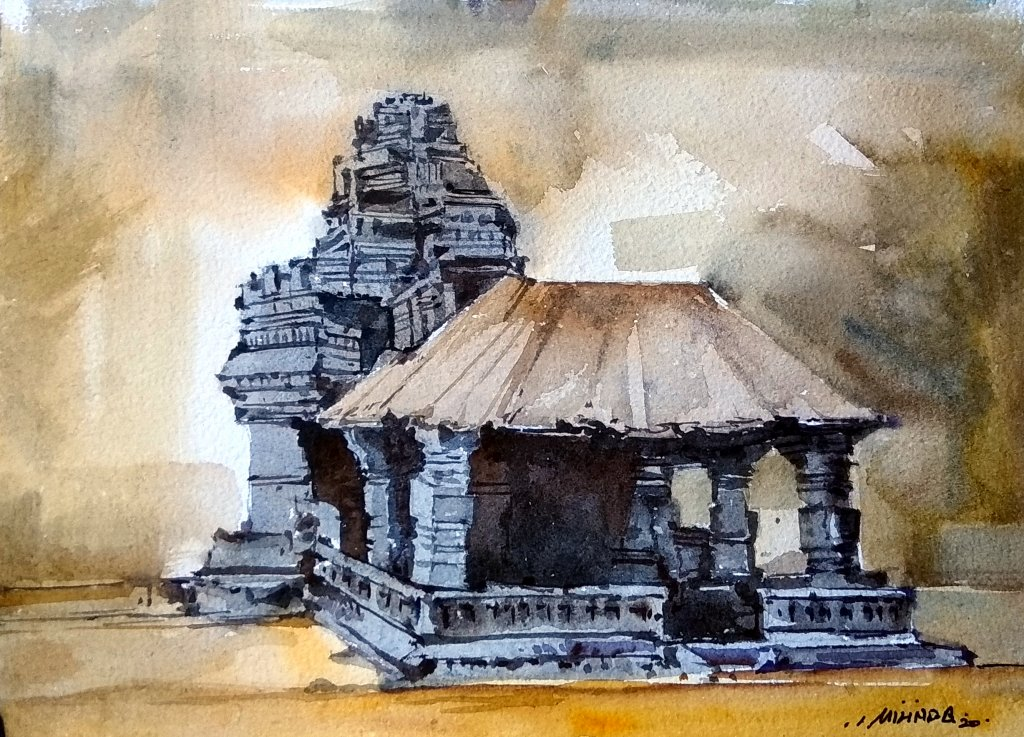 Temple Series: INDIA Its a beautiful experience to understand temple strength, style and beauty. Wat