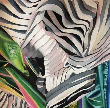 Bones Watercolor by by Gail Juszczak