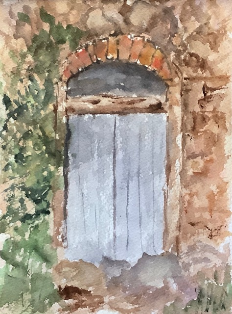 #doodlewashoctober2020 day 31 door: On a back street on the Island of Khios, Greece IMG_2488