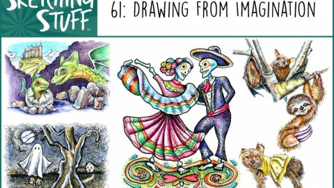 Sketching Stuff Episode 61 Album Art Drawing From Imagination