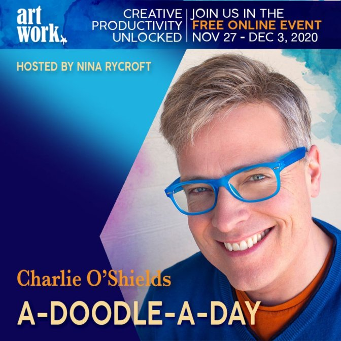 ArtWork Creative Productivity Unlocked Charlie O'Shields Promo Graphic