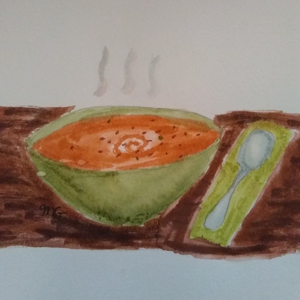 Prompt Soup Made a painting of Pumpkin soup IMG_20201117_103834_239