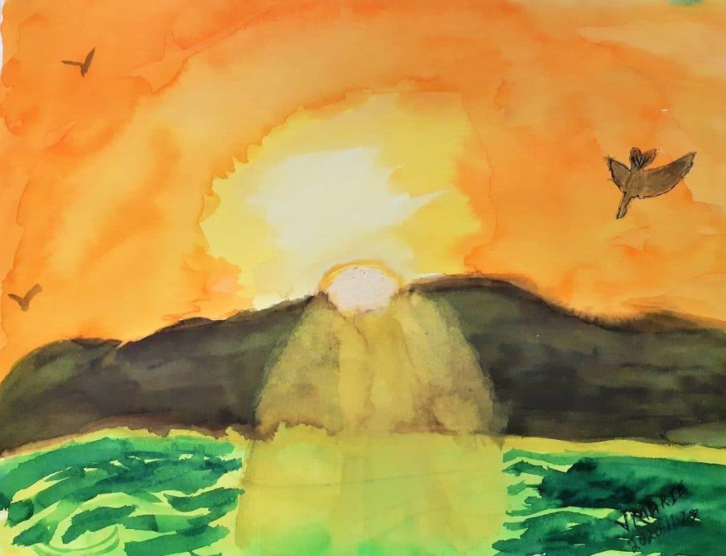 #sunrise ##doodlewashNovember2020 Sunrise