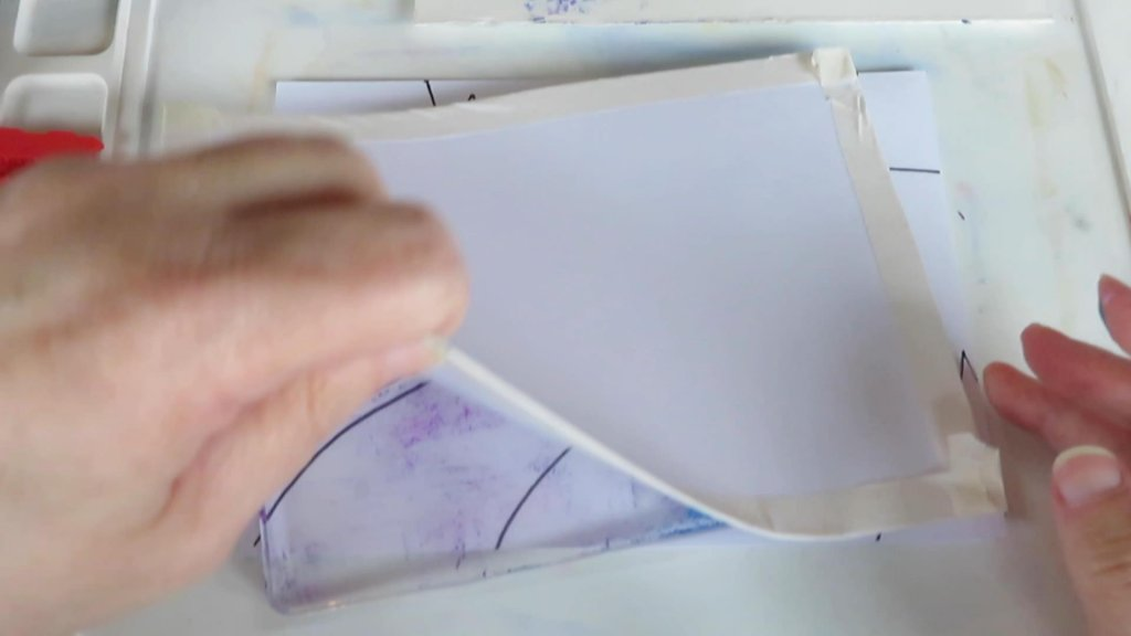 Monoprint tutorial step 6