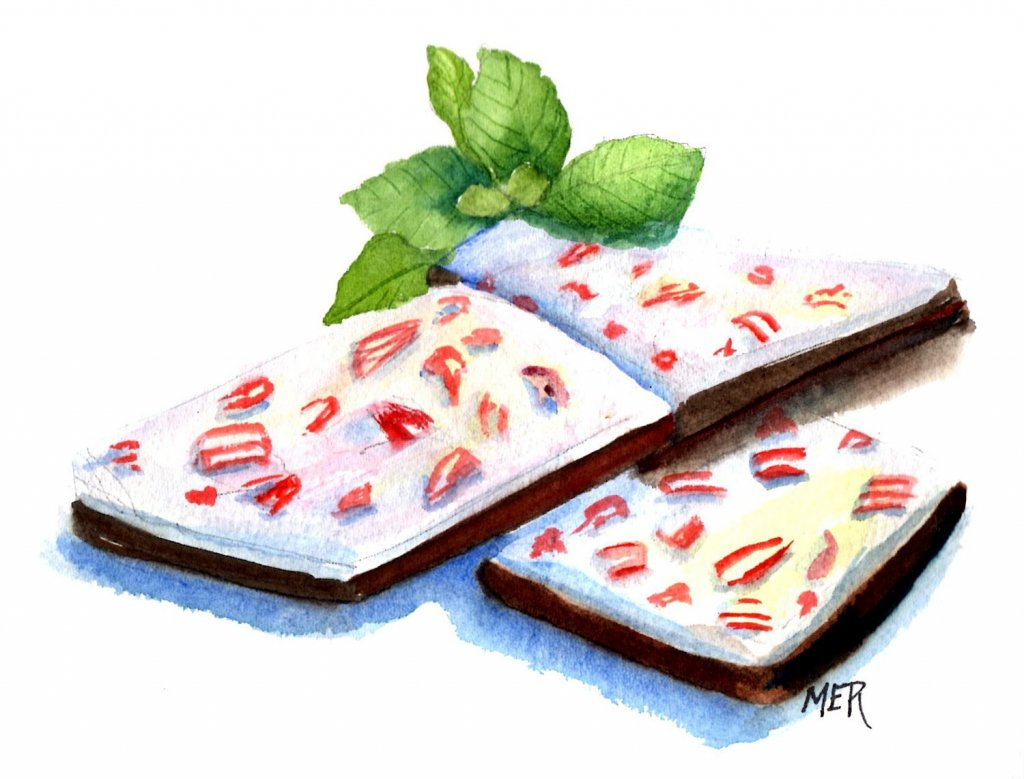 12/1/20 Peppermint bark – a favorite treat to make for Christmas. 12.1.20 Peppermint img009