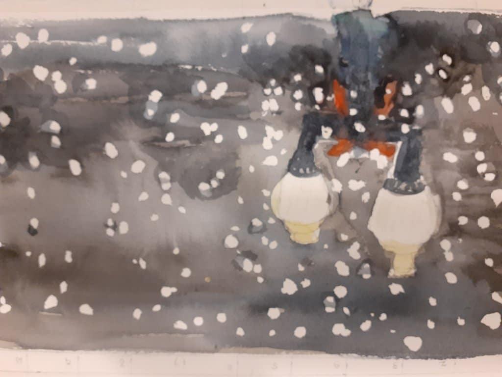 Snowy night and hot chocolate 20201230_17411120201230_111000