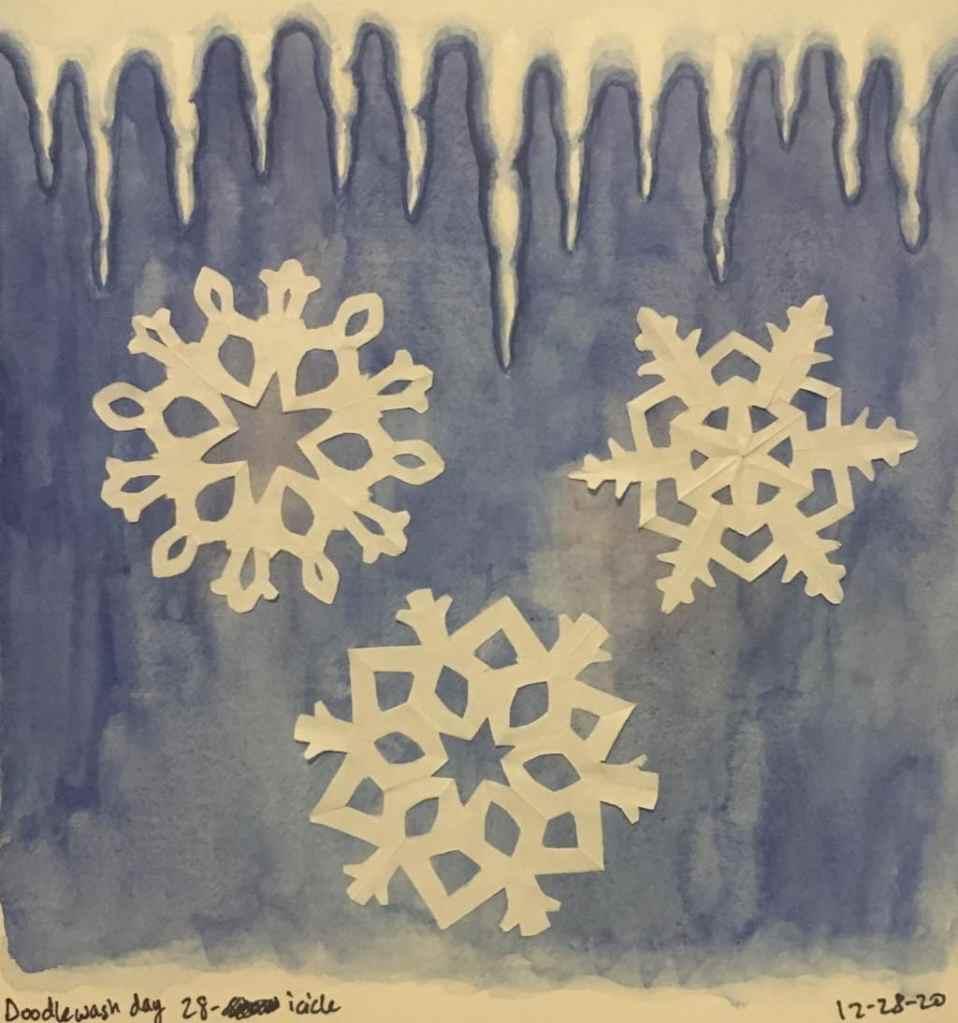 Day 28 icicle 94C3B20F-C2AE-4491-9238-EDC7D8CE3034