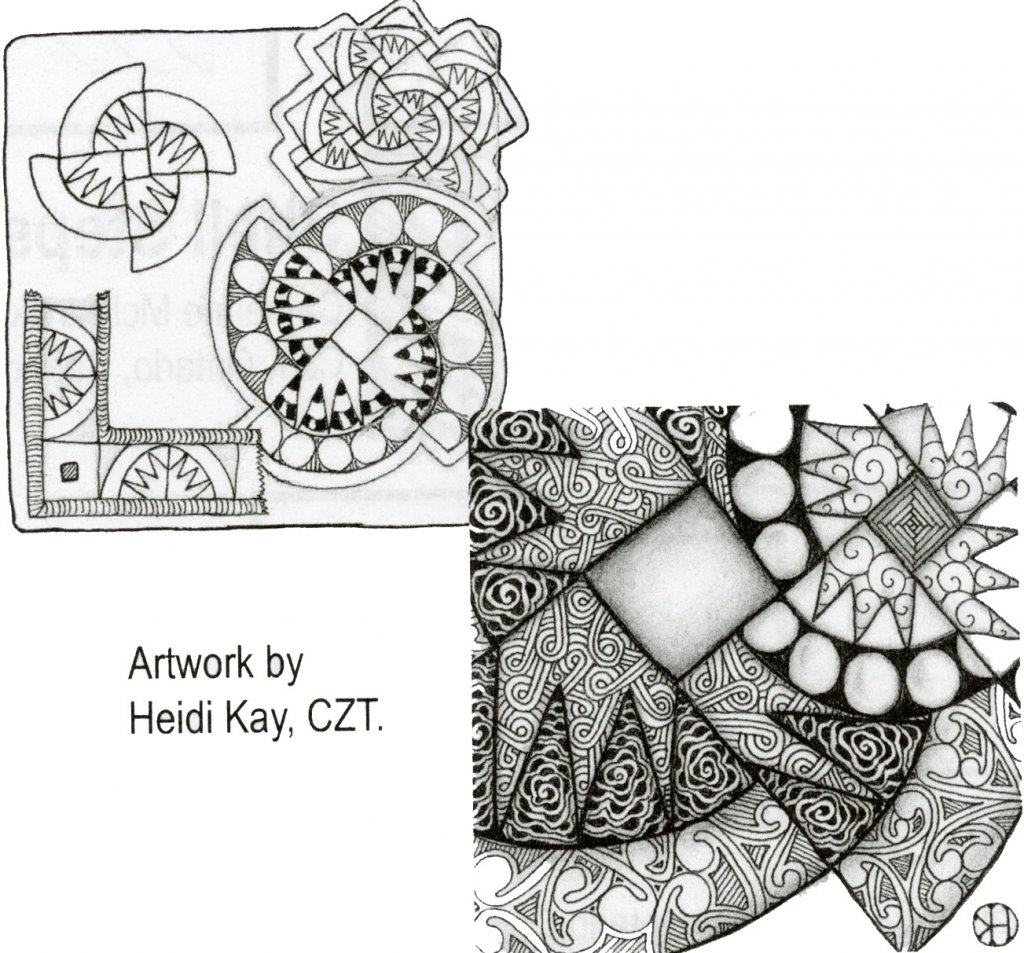 Heidi Kay Tangle Art