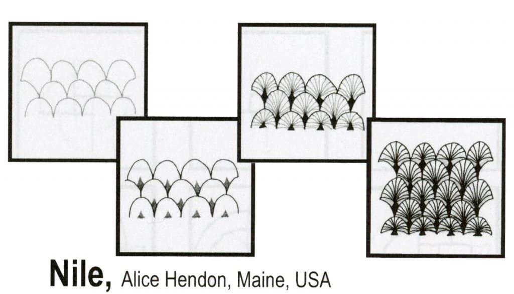 Alice Hendon Tangle Pattern Example
