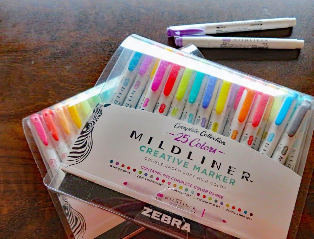 Zebra Pen Mildliner Creative Marker Set