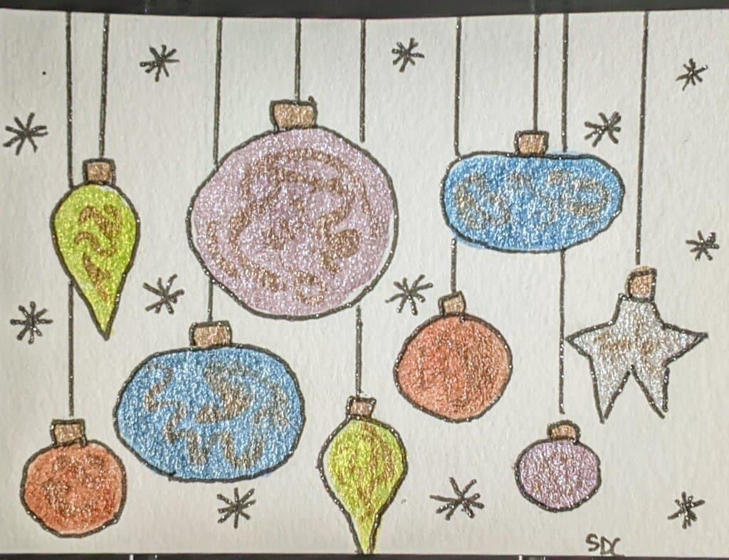#doodlewashdecember2020 12/7/20 Ornament PXL_20201207_235725036