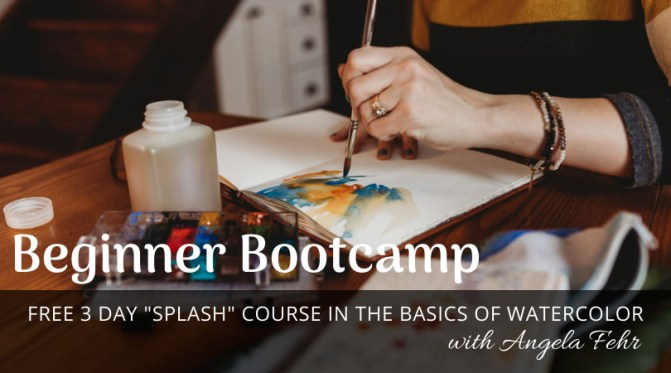 BEGINNER+BOOTCAMP Angela Fehr Watercolor Free Class