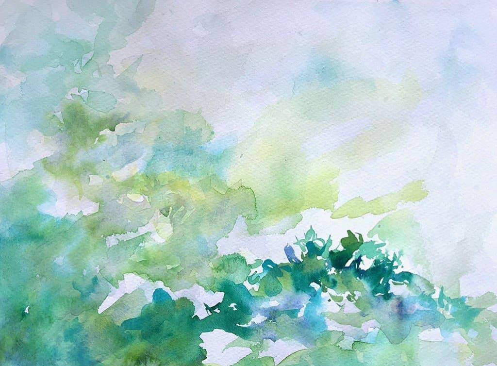 Dawn Watercolor Lisa Sinicki