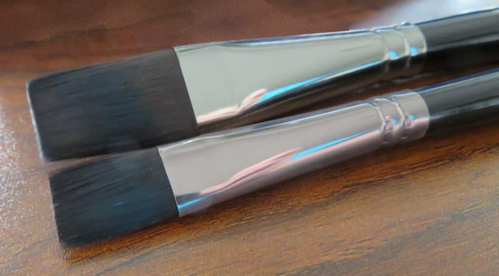 ZenArt Black Tulip Flat brushes