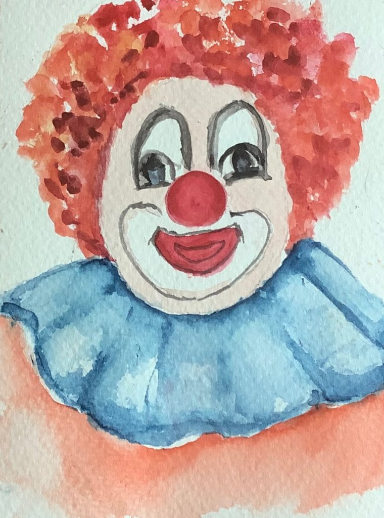 #doodlewashapril2021 day 1 Joker: thank you Gary for all the interesting prompts for April. IMG_2999