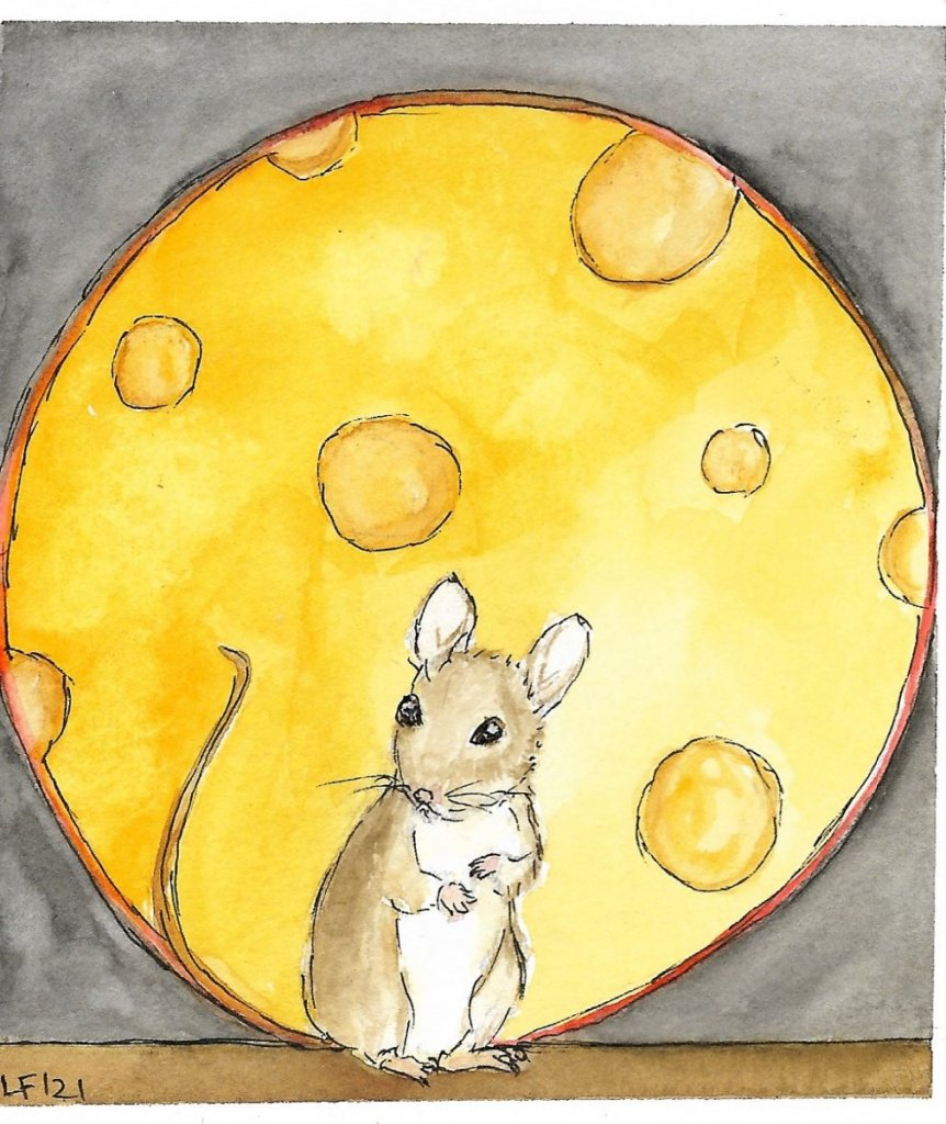 Moon Mouse Wow I pulled that month off by the skin of my teeth! Thank you so much Gary for the promp