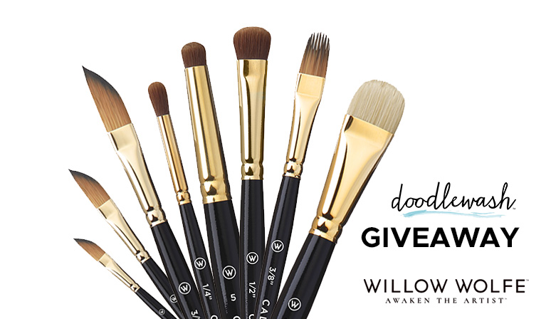 Willow Wolfe Callia Brush Giveaway March 2021 Sharing Image