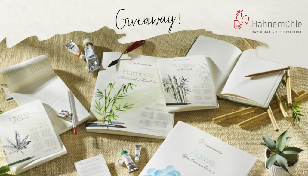 Hahnemühle May 2021 Giveaway