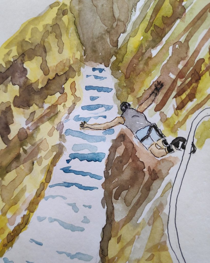 #day9 #jumping #doodlewashmay2021 #worldwatercolorgroup IMG_20210509_082357_479