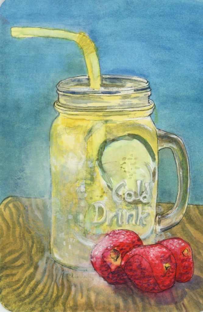 Lemonade for the ages! #DoodlewashJune2021 prompt: Lemonade. Did you know that the recipe for lemona