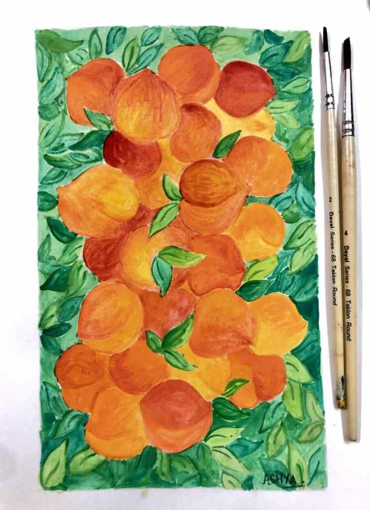 Day 2 Peaches 🍑 #doodlewashjune2021 #worldwatercolorgroup 4B62435E-3F71-4369-A60D-E943C33EB6