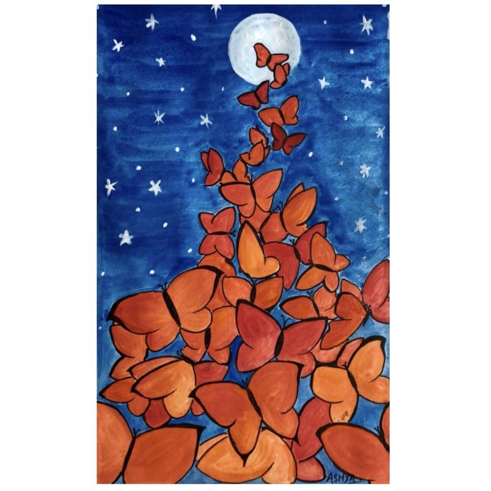 Day 3 Butterfly 🦋 #doodlewashjune2021 #worldwatercolorgroup91D03707-FDD4-4DE3-B2F0-DCBE577C6