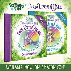 Draw Upon A Time 2 Books Mouse Dog Promo