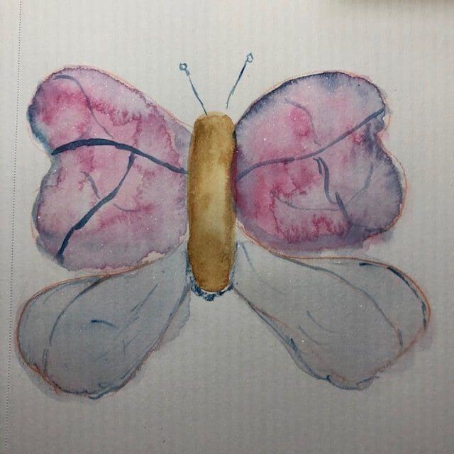 Waterwash butterfly #doodlewashjune2021 IMG_6950