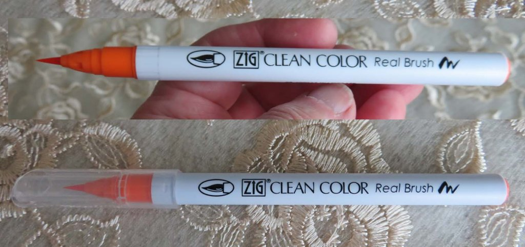 Single ZIG Clean Color watercolor brush pen