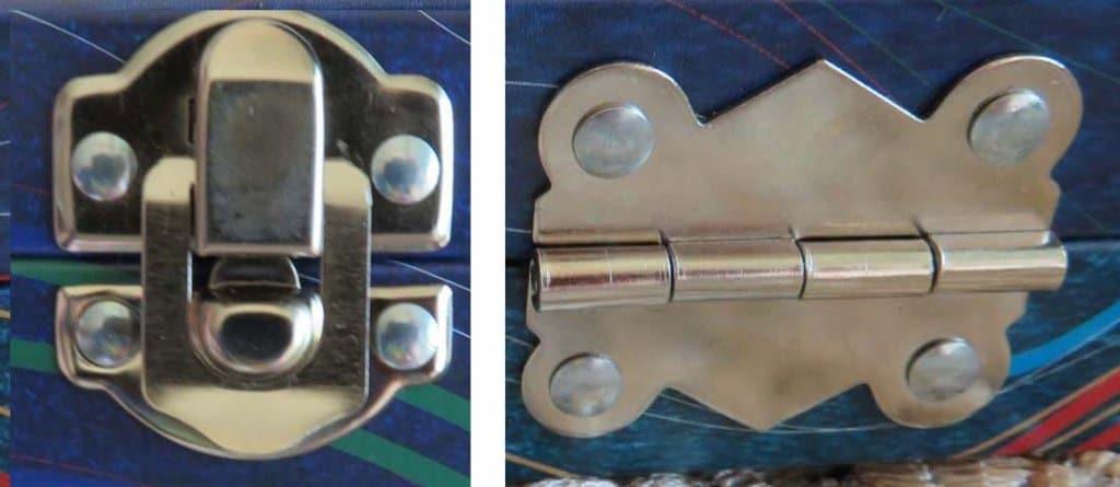 ZenART Allegro Watercolor Box clasp & hinge
