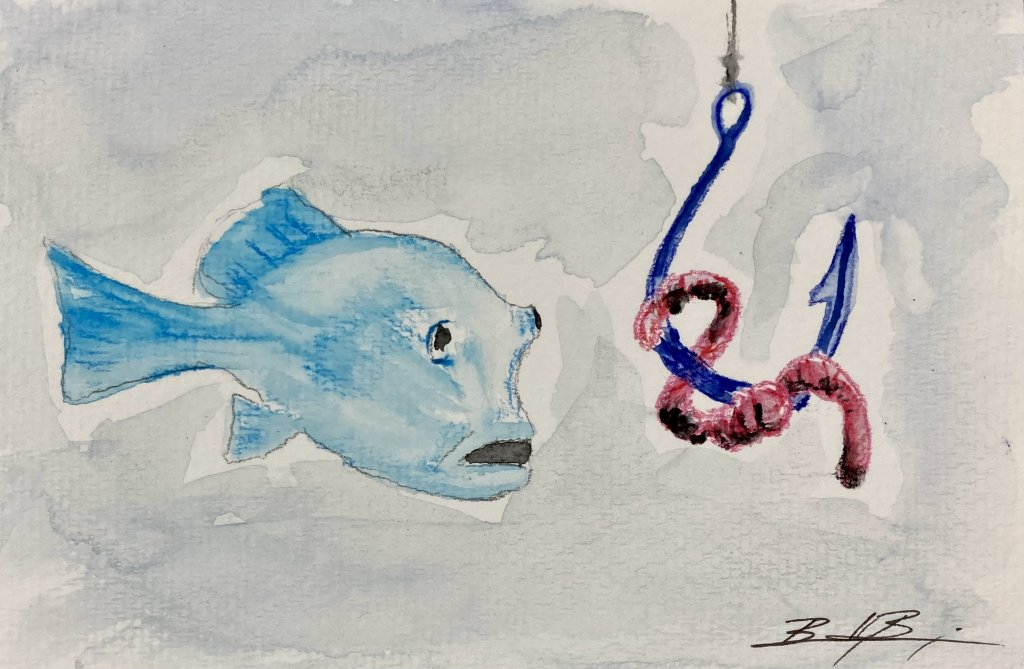 Day 11 – Abrupt – The fun came to an abrupt end when the hooks came out. 9A8E87EB-5B30-4