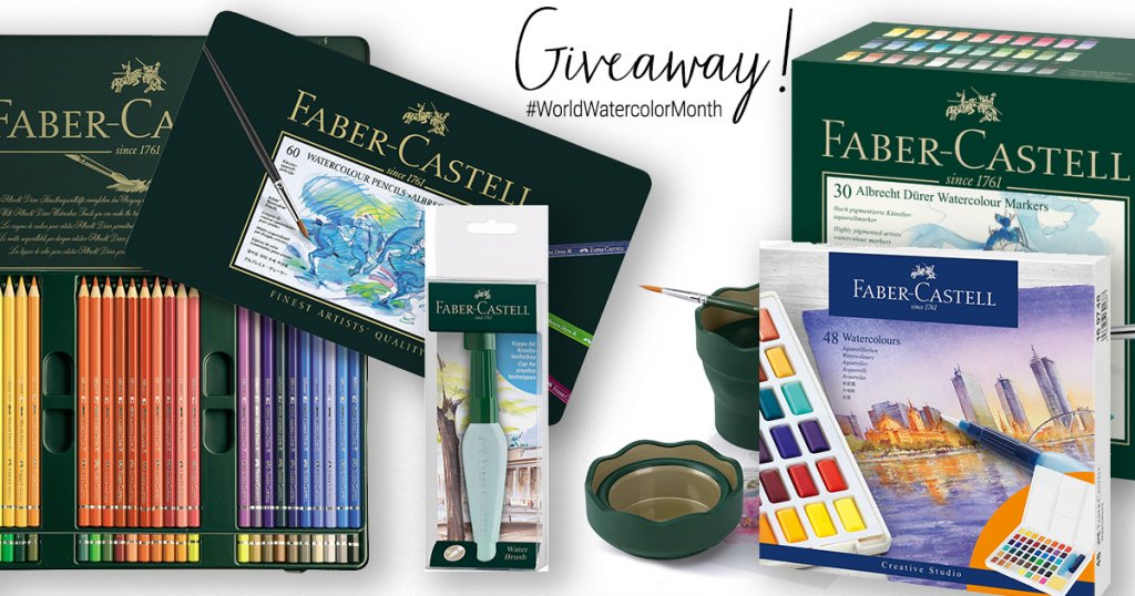 Faber-Castell Watercolor World Watercolor Month 2021 Sharing Image 1